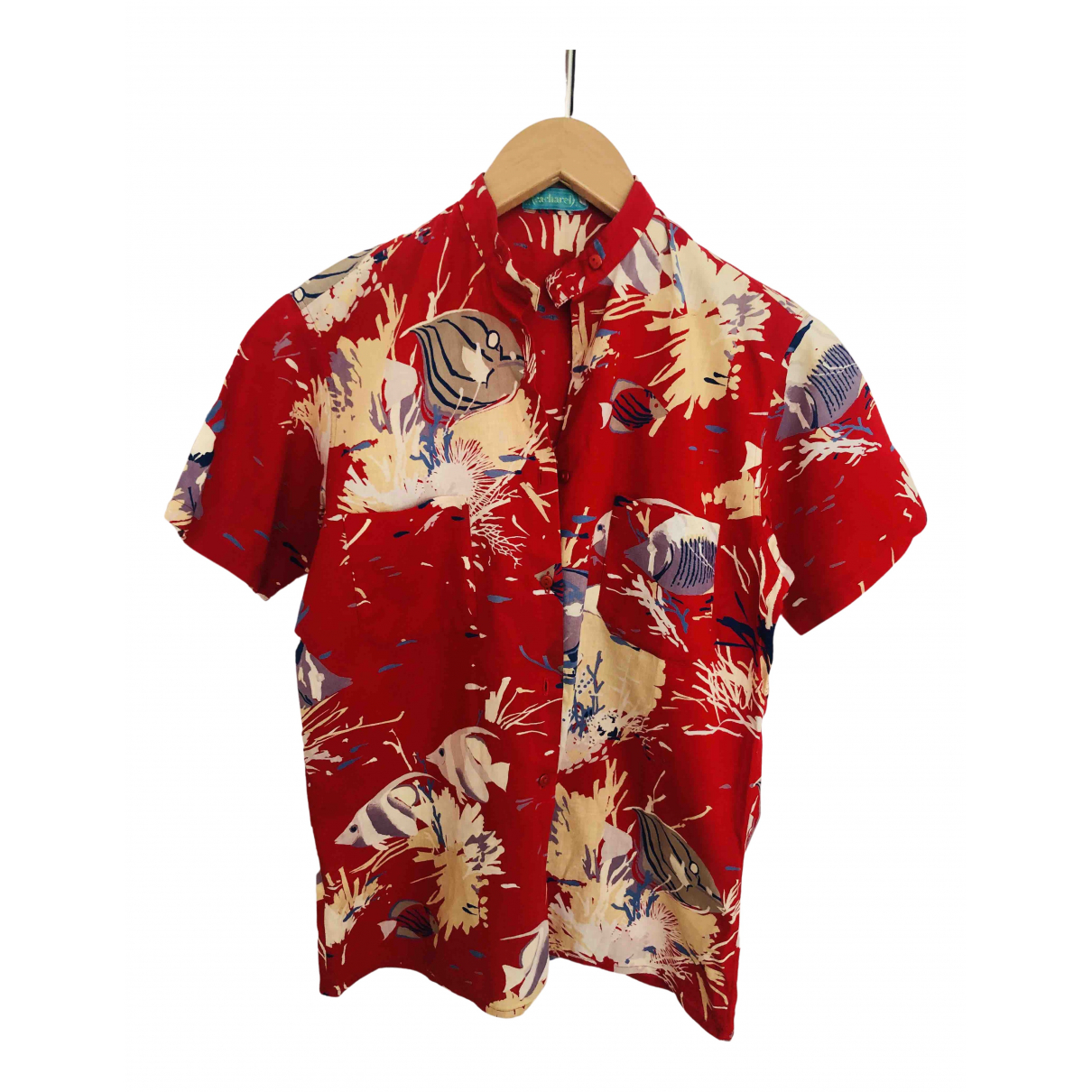 Cacharel N Red Cotton Shirts for Men S International