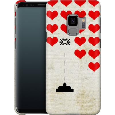 Samsung Galaxy S9 Smartphone Huelle - Heart Attack von Claus-Peter Schops