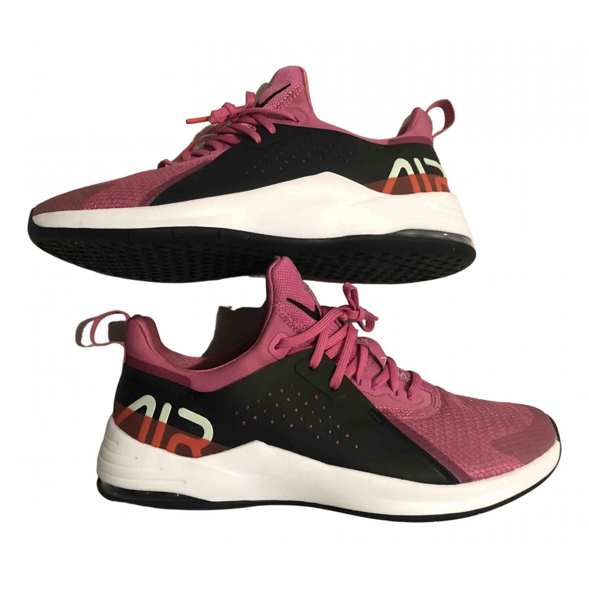 Nike Air Max  Sneakers in  Bunt Leinen