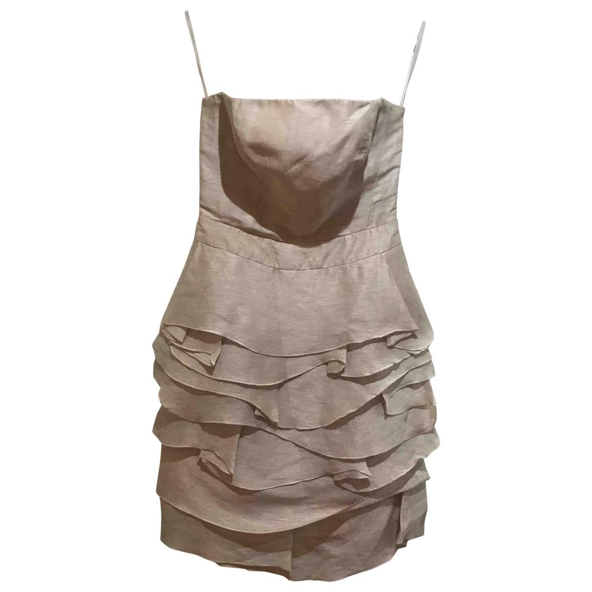 Reiss - Robe   pour femme - beige