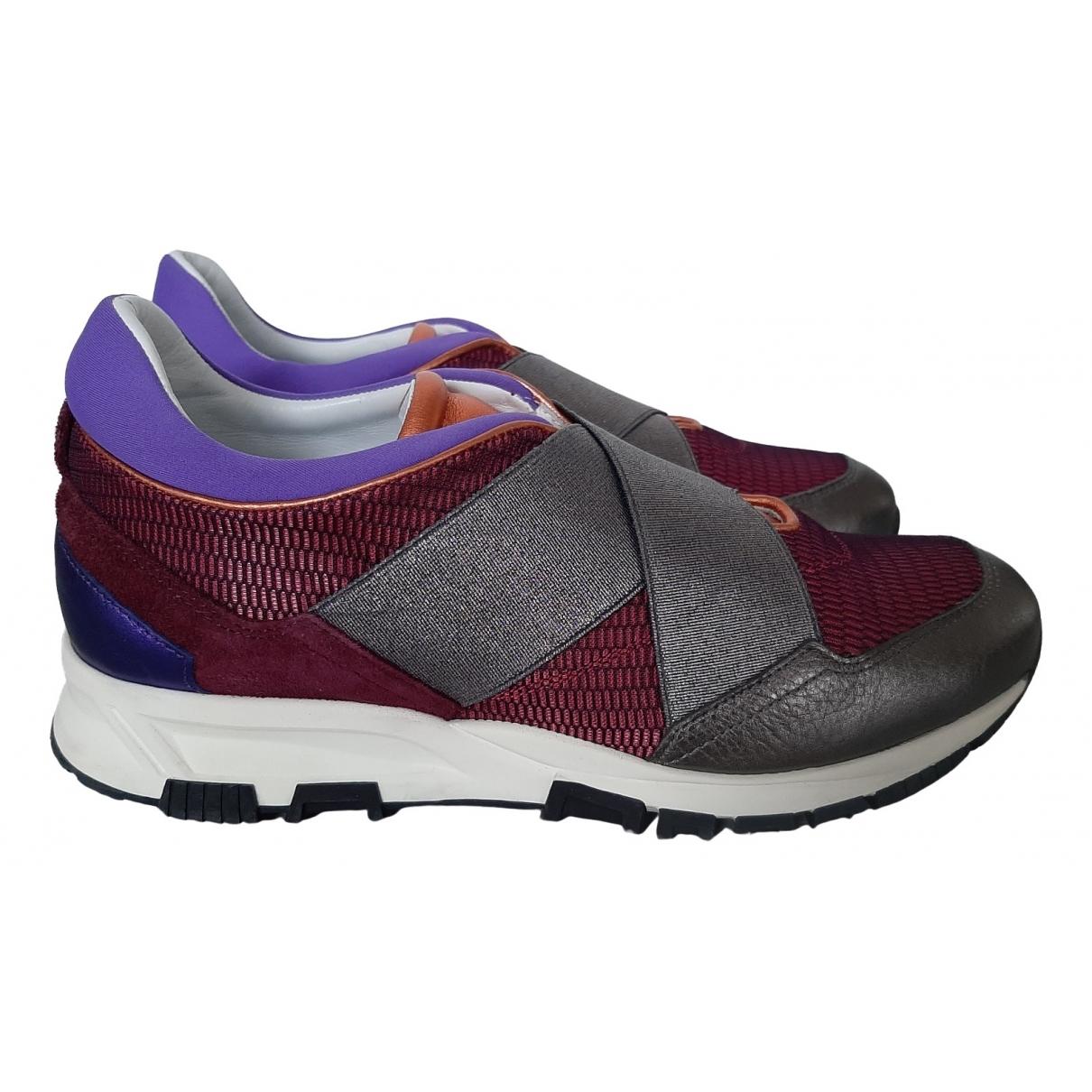 Lanvin \N Sneakers in  Rot Leder
