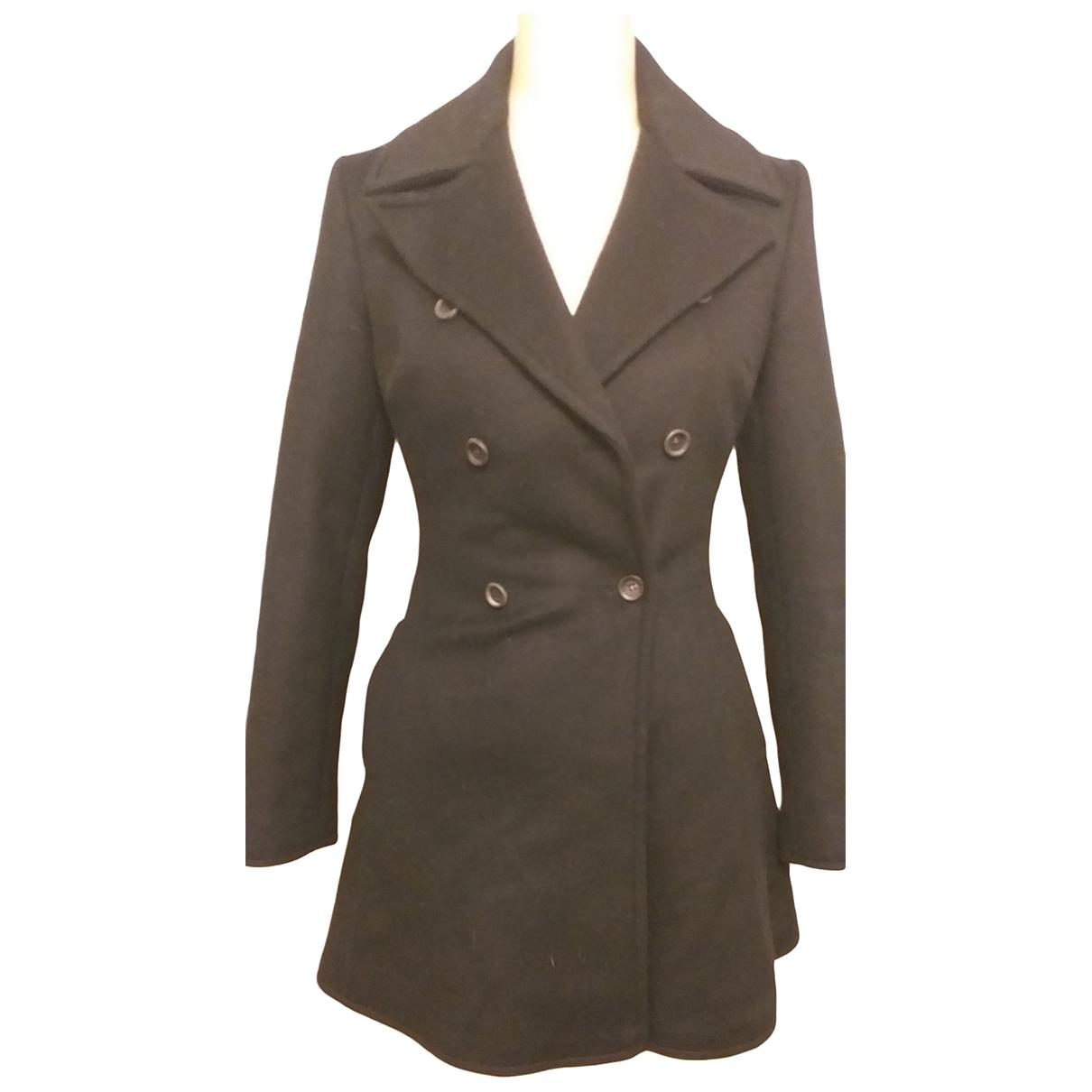 Anna Molinari - Veste   pour femme en laine - noir
