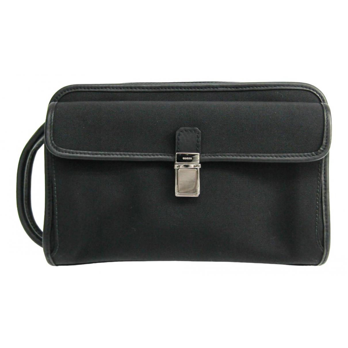 Gucci N Black Cloth Clutch bag for Women N