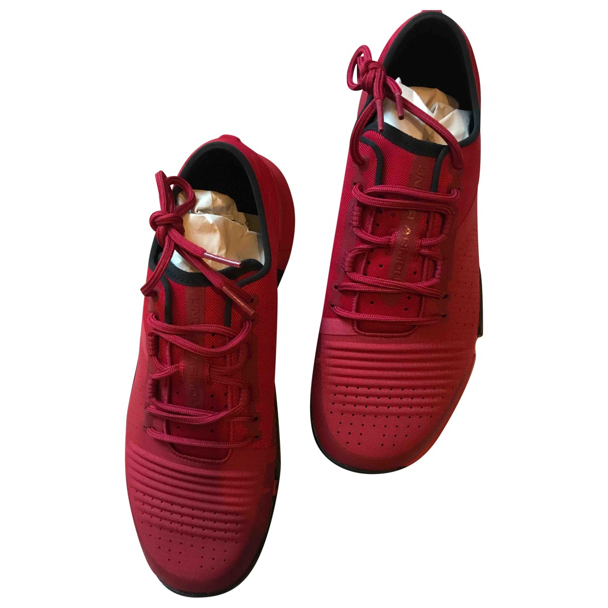 Under Armour N Red Cloth Trainers for Men 42 EU
