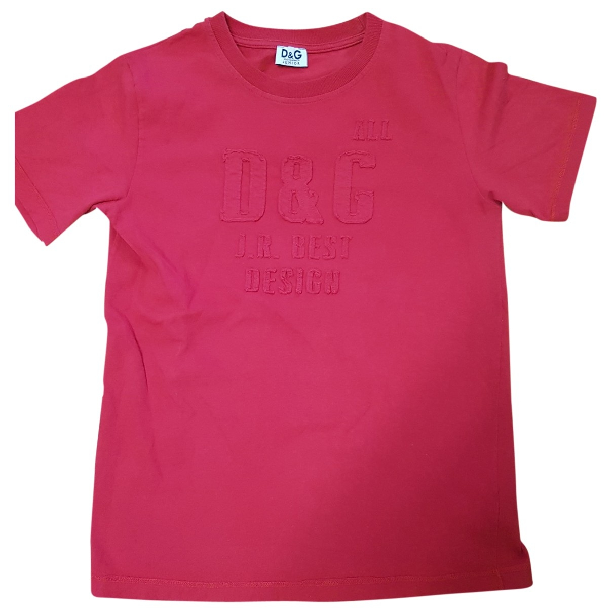 D&g \N Red Cotton  top for Kids 10 years - up to 142cm FR