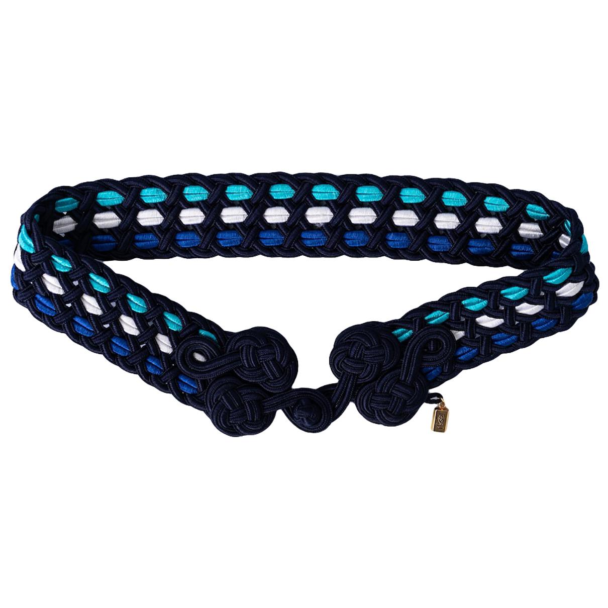 Yves Saint Laurent N Blue belt for Women 75 cm