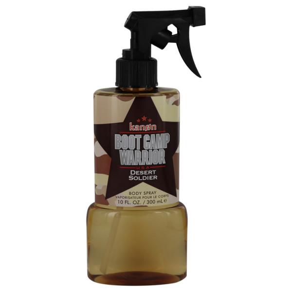Boot Camp Warrior Desert Soldier - Kanon Korperspray 300 ml