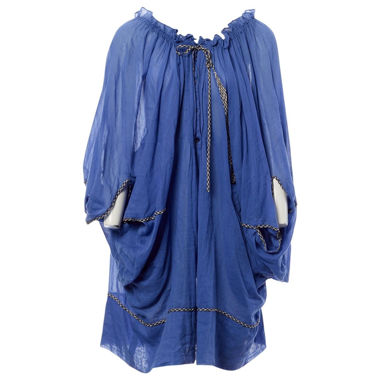 Wunderkind \N Blue Cotton dress for Women L International