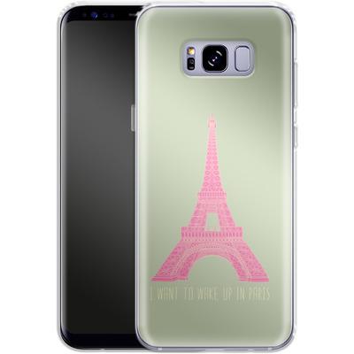Samsung Galaxy S8 Plus Silikon Handyhuelle - Oui Oui von Bianca Green