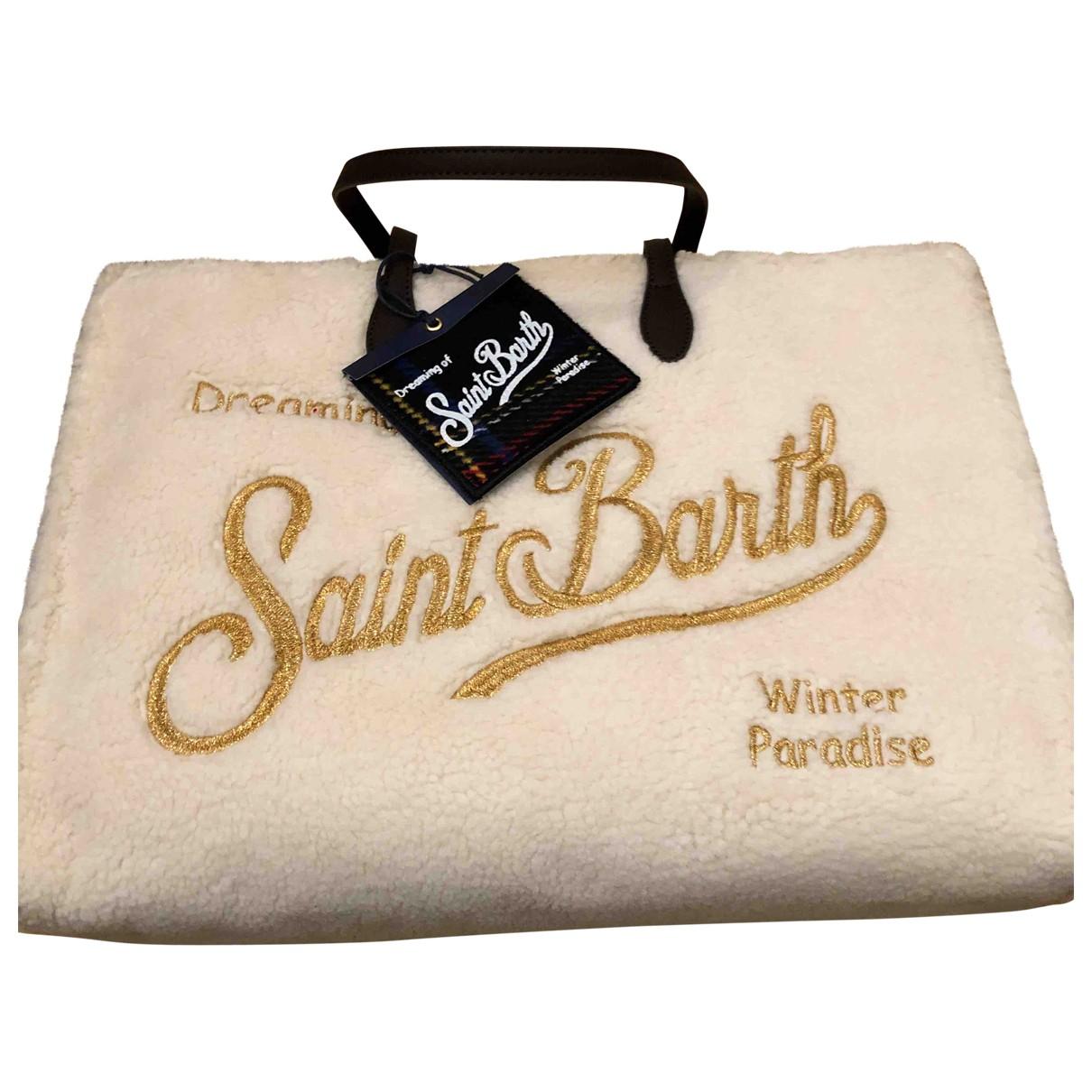 Mc2 Saint Barth N White Faux fur handbag for Women N