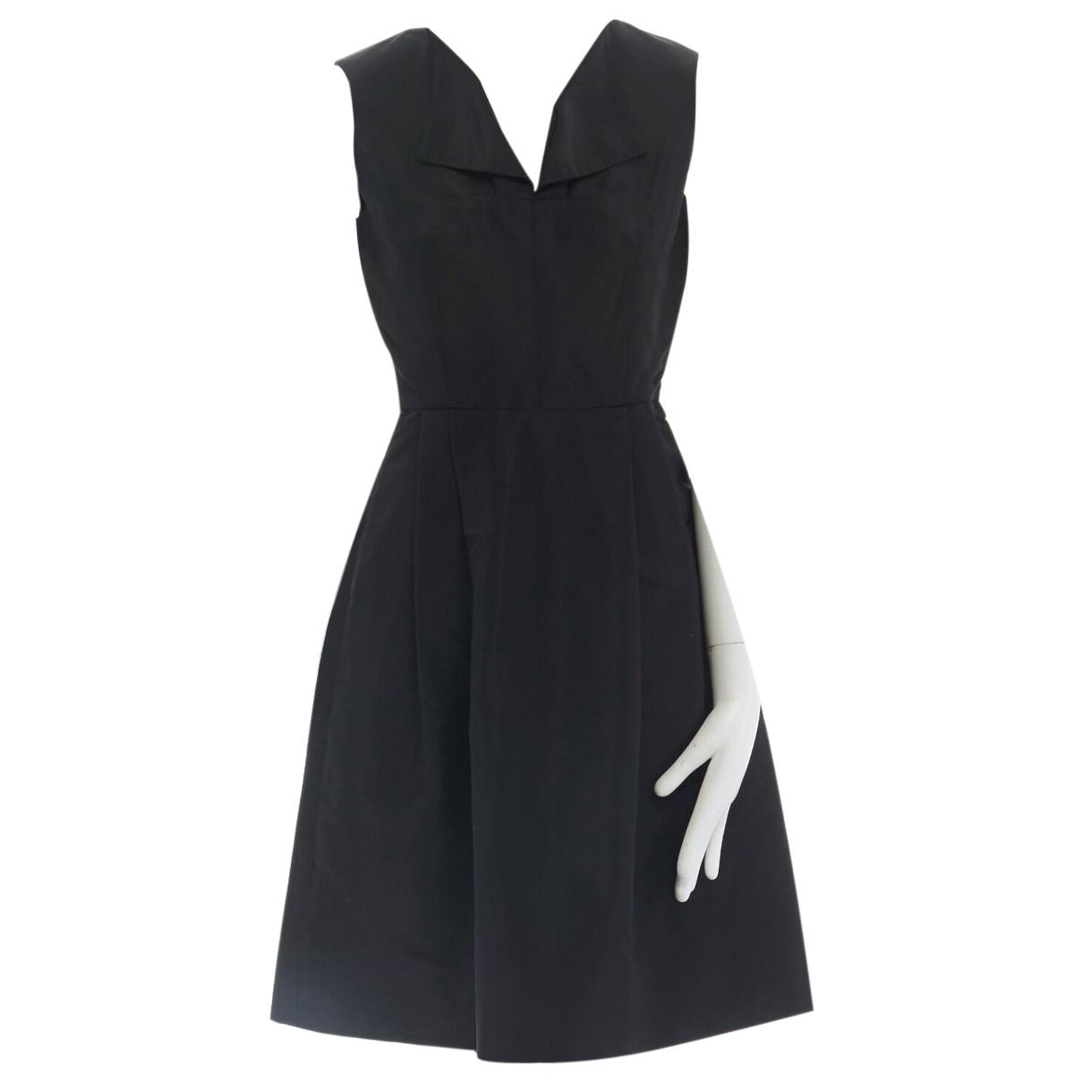 Oscar De La Renta \N Kleid in  Schwarz Seide