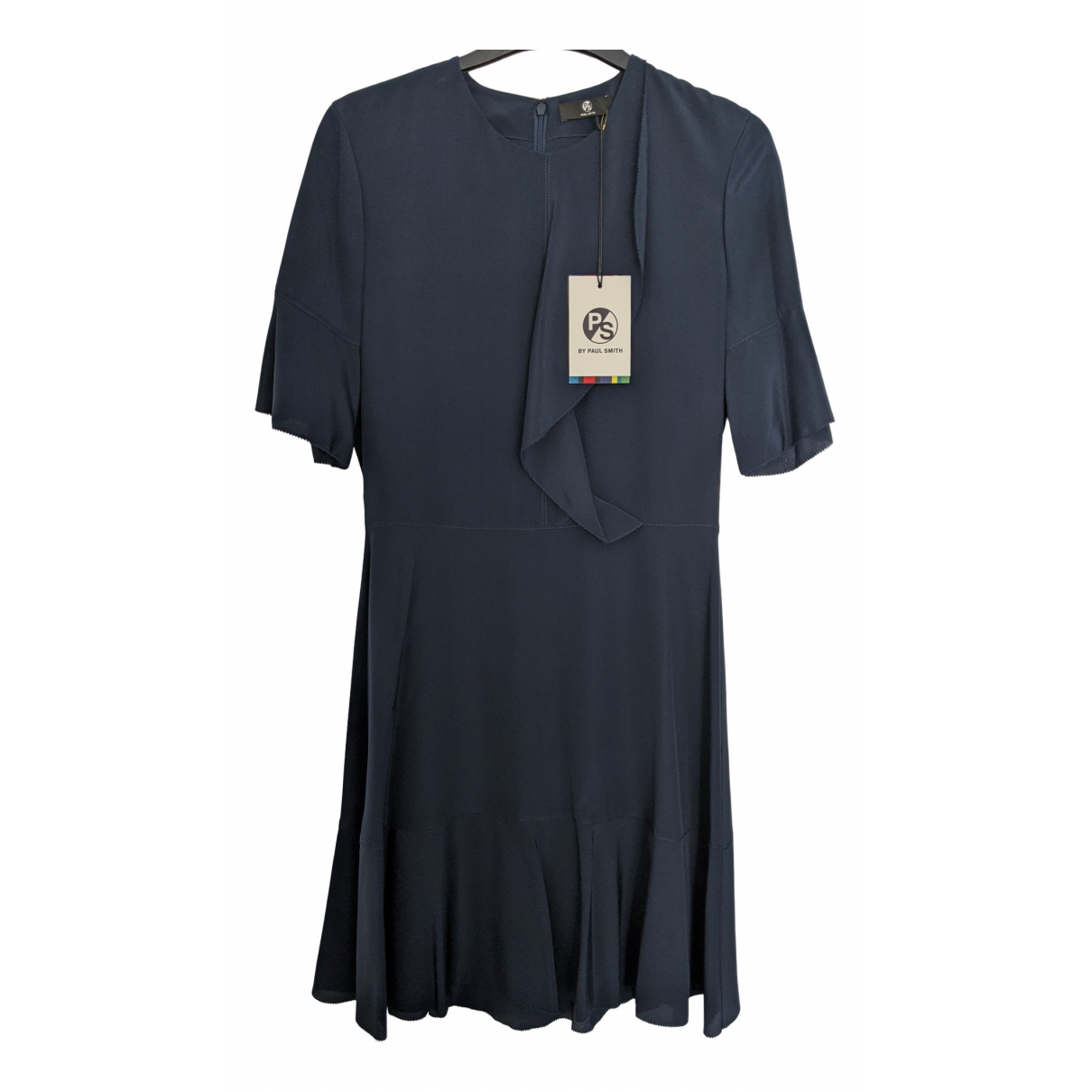Paul Smith \N Kleid in  Marine Seide
