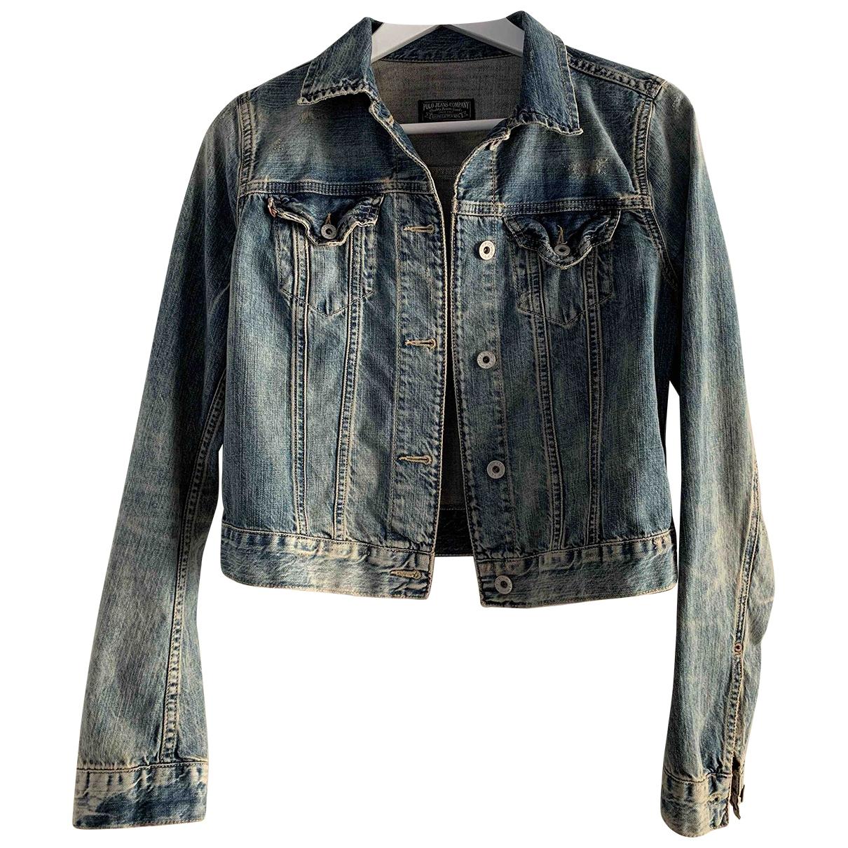 Polo Ralph Lauren \N Jacke in  Blau Denim - Jeans