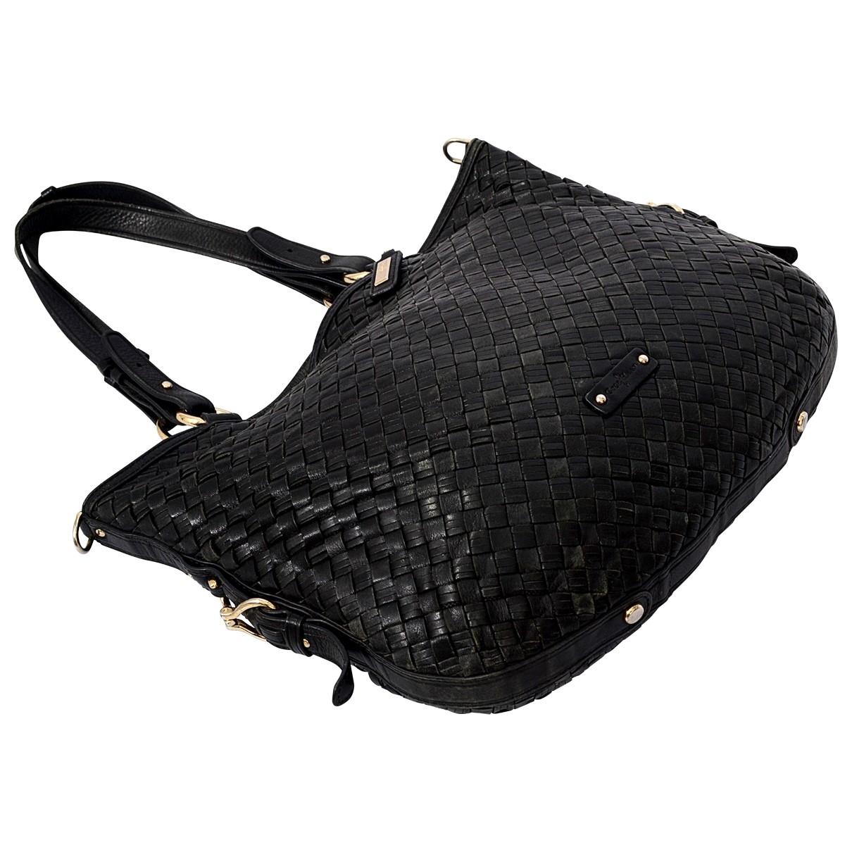 Cole Haan \N Handtasche in  Schwarz Leder