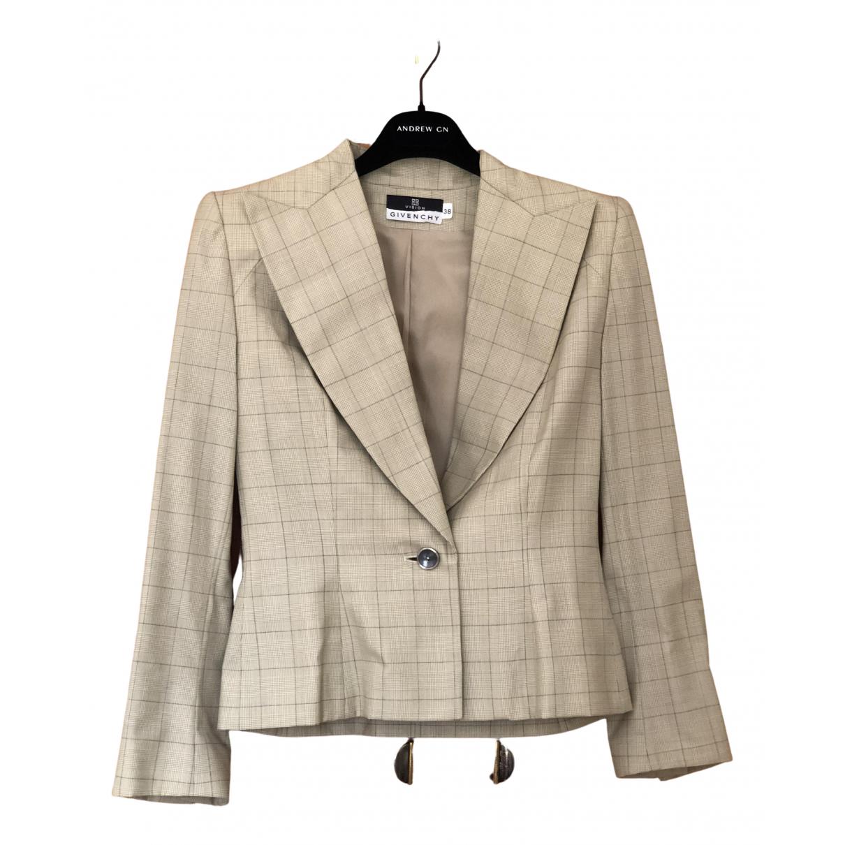 Givenchy - Veste   pour femme en laine - beige