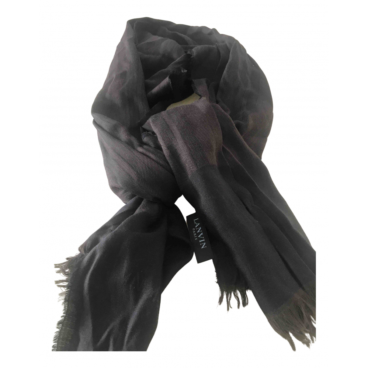 Lanvin \N Brown Wool scarf for Women \N