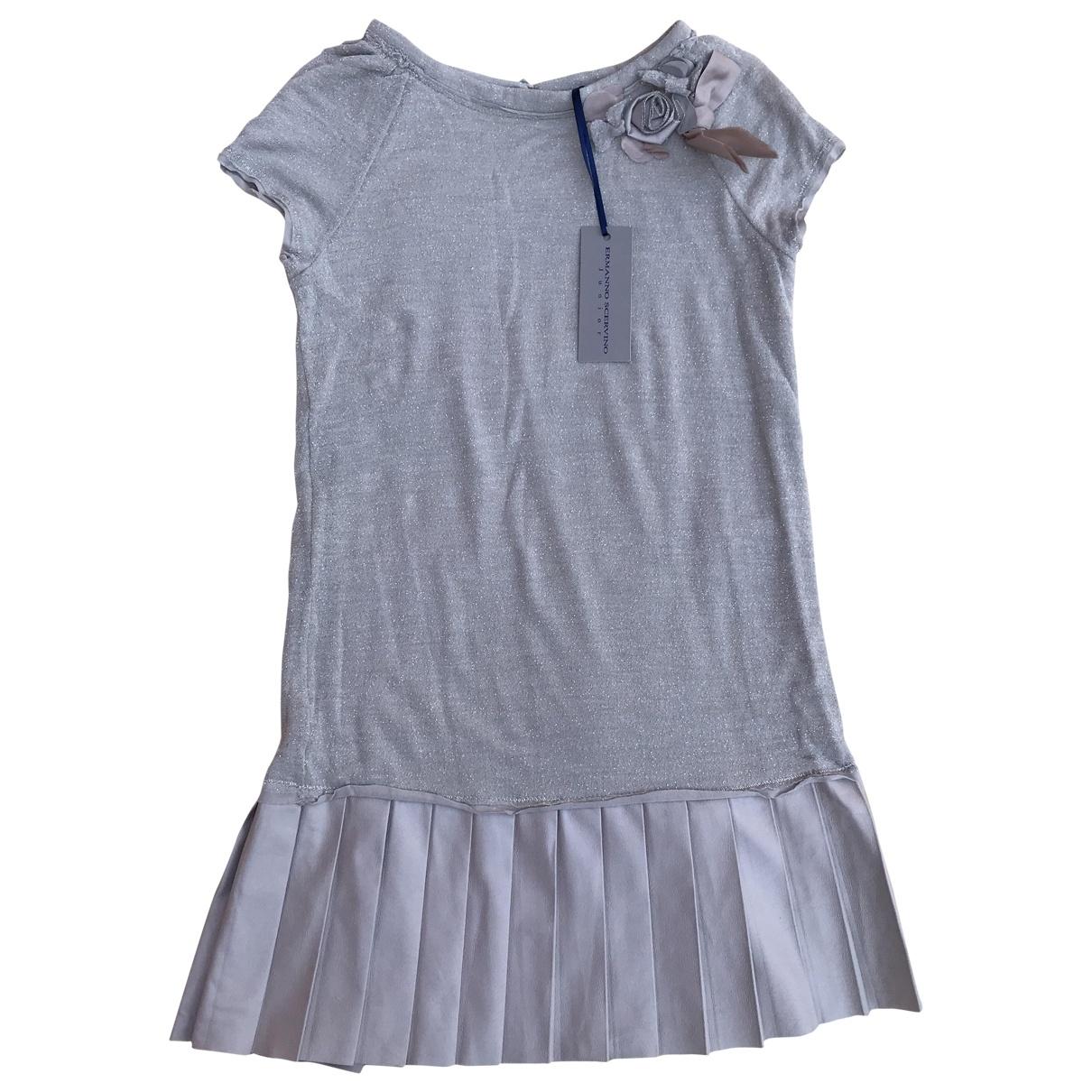 Ermanno Scervino - Robe    pour enfant en laine - gris