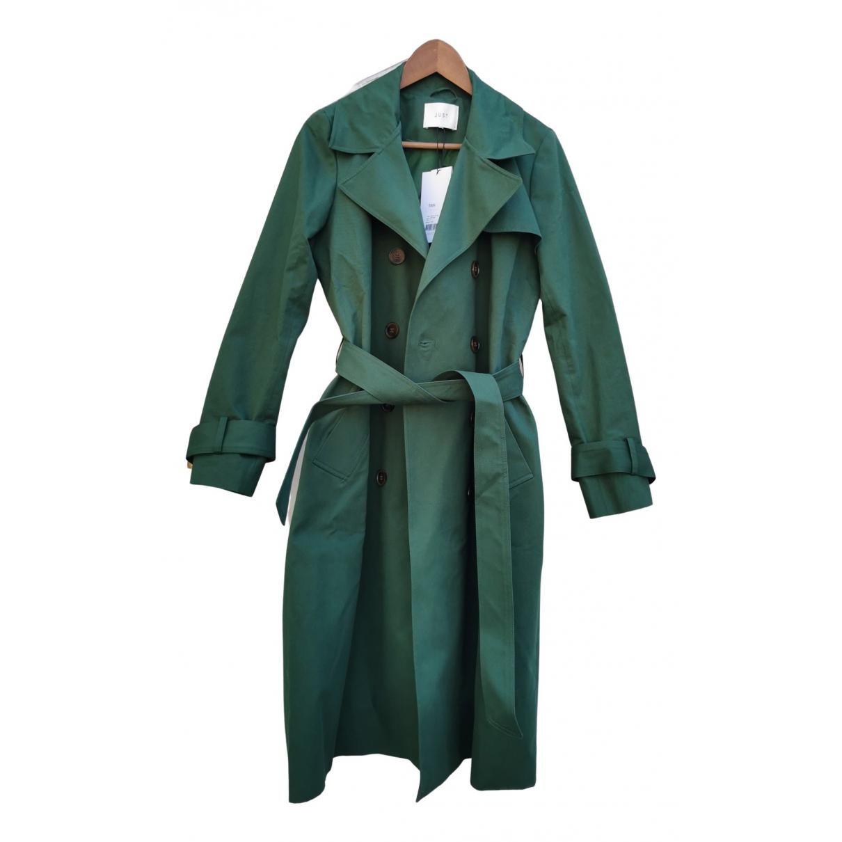 Just Female - Manteau   pour femme en coton - vert