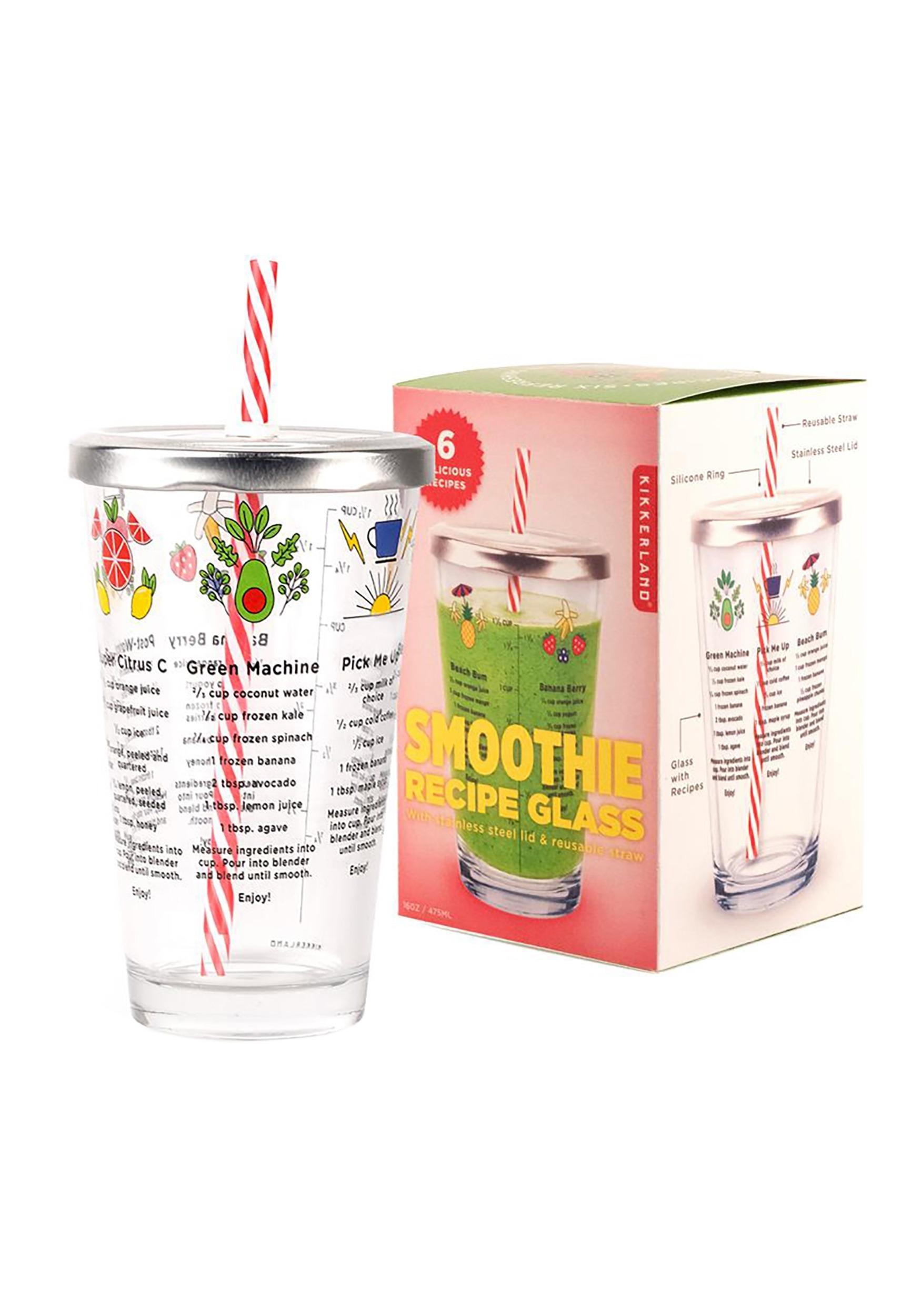 Smoothie Recipe 16 oz Glass