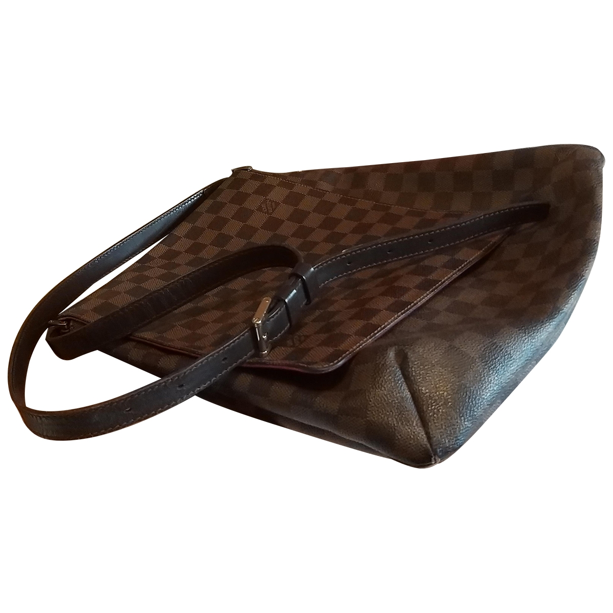 Louis Vuitton Musette Tango  Brown Cloth handbag for Women \N