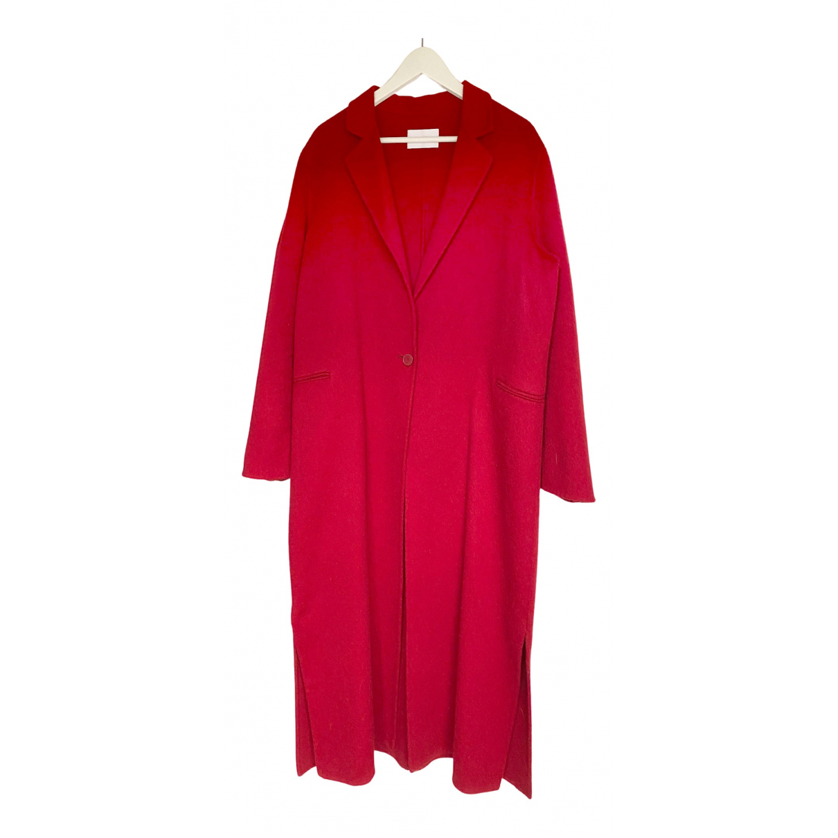 Sandro - Manteau Fall Winter 2019 pour femme en coton - rouge
