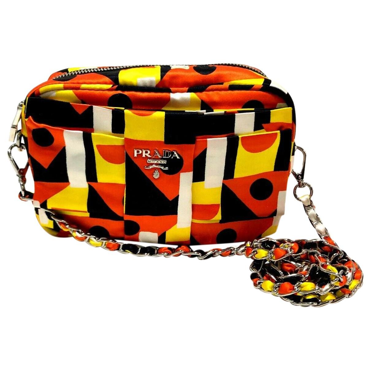 Prada \N Handtasche in  Bunt Leinen