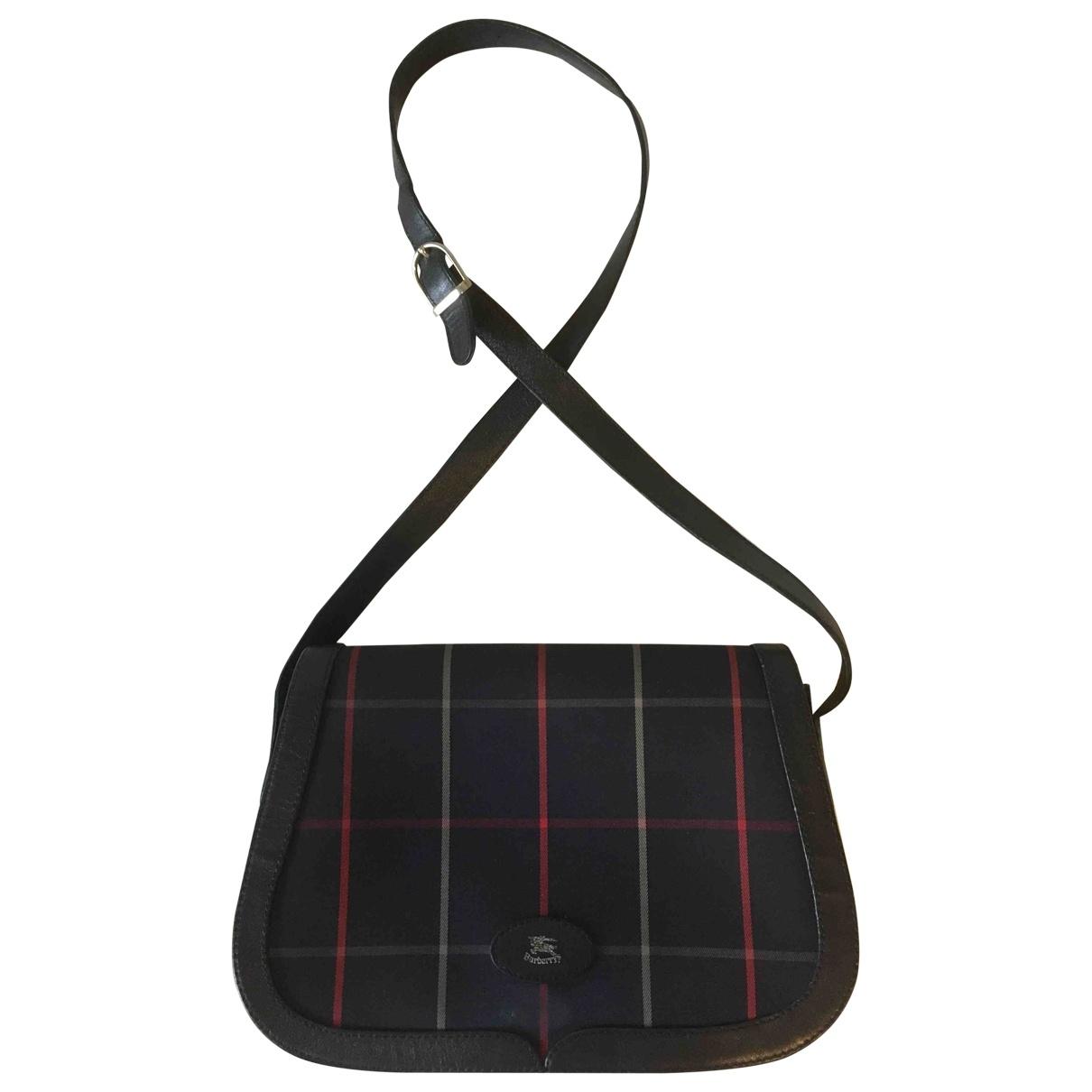 Burberry \N Navy Cloth handbag for Women \N