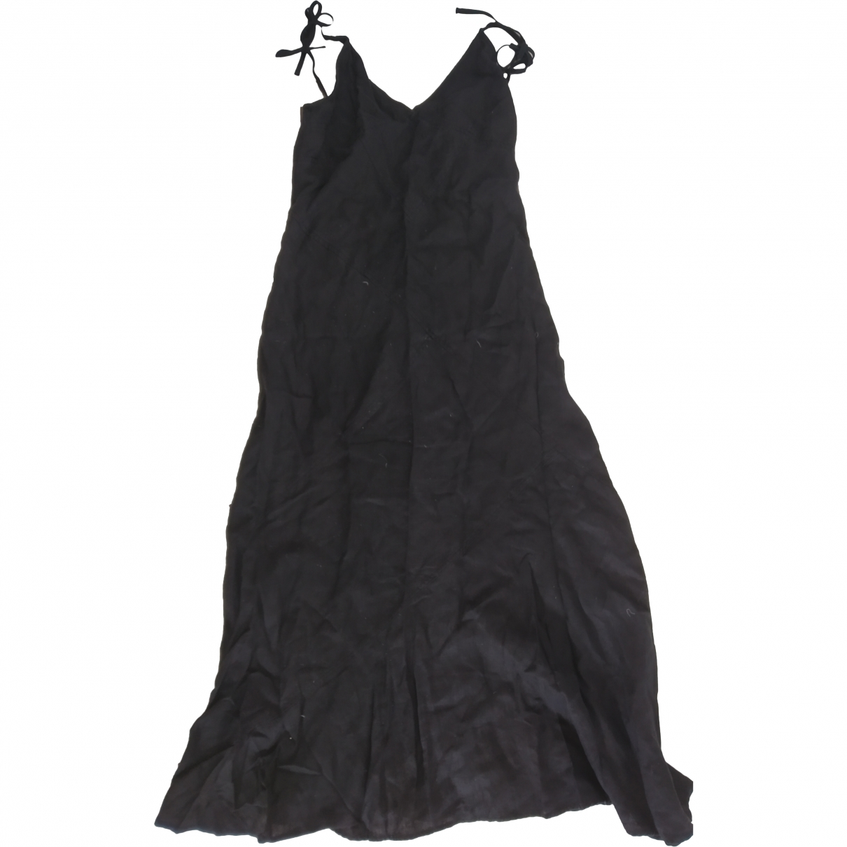 Calvin Klein \N Black Linen dress for Women L International