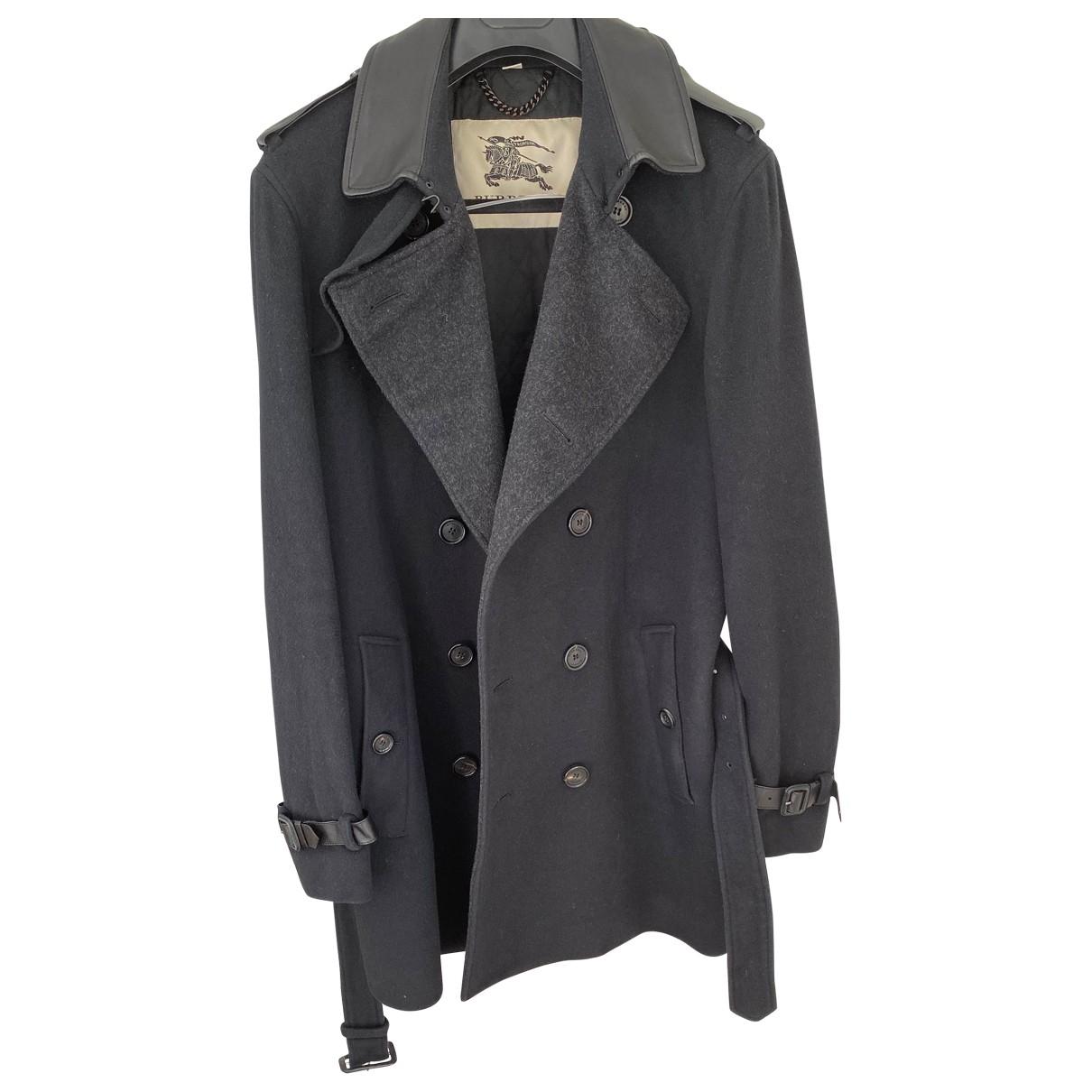 Burberry \N Multicolour Wool coat  for Men 50 IT