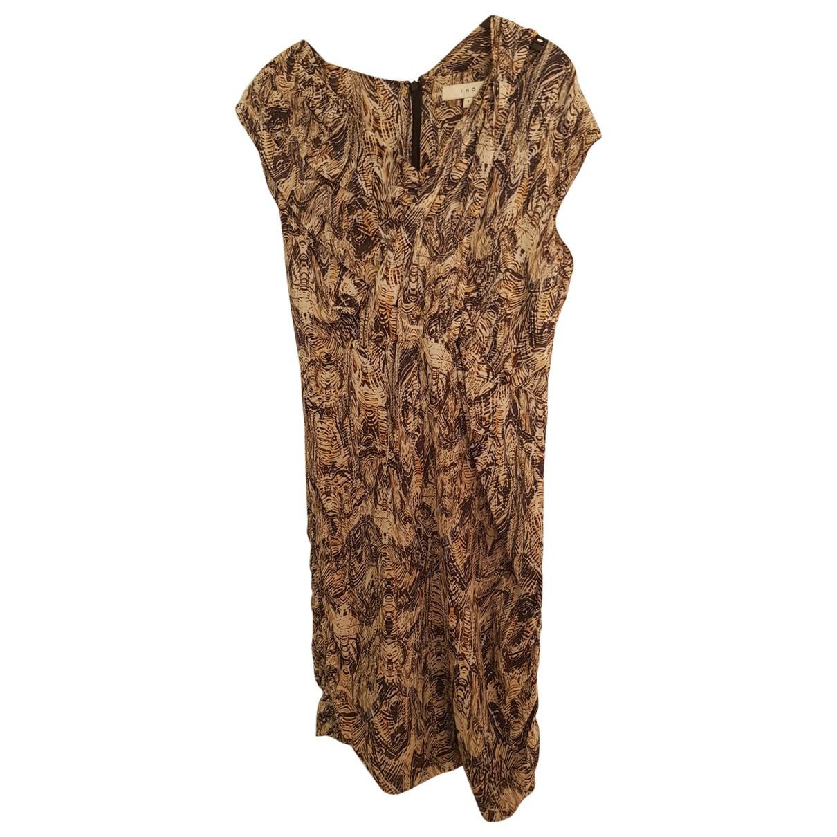 Iro \N Blue Silk dress for Women 1 0-5