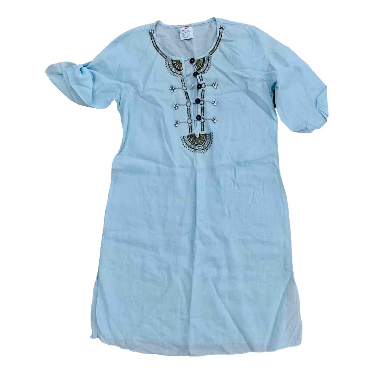 Versus - Bain   pour femme en coton - bleu