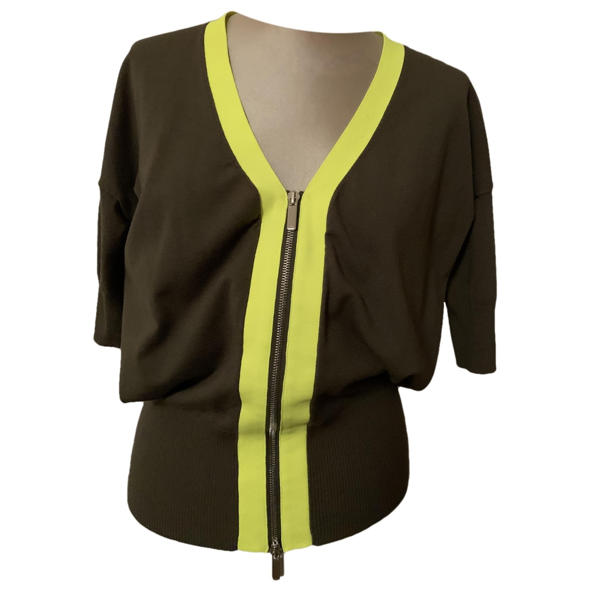 Karen Millen \N Khaki Knitwear for Women 1 US