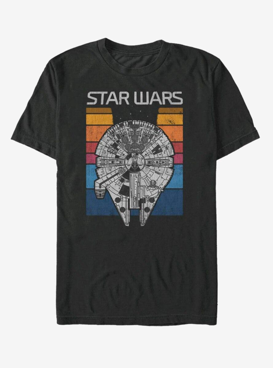 Star Wars Falcon Colors Flip T-Shirt