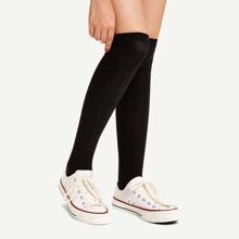 Calcetines sobre rodilla