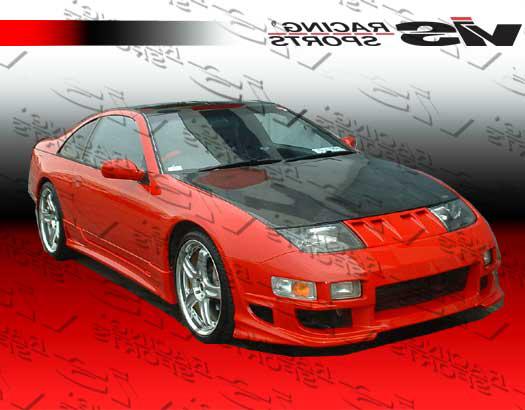 VIS Racing 90NS3002DOE-010C Carbon Fiber OEM Hood Nissan 300ZX 90-96