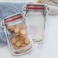 Bottle Design Clear Bag 3pcs