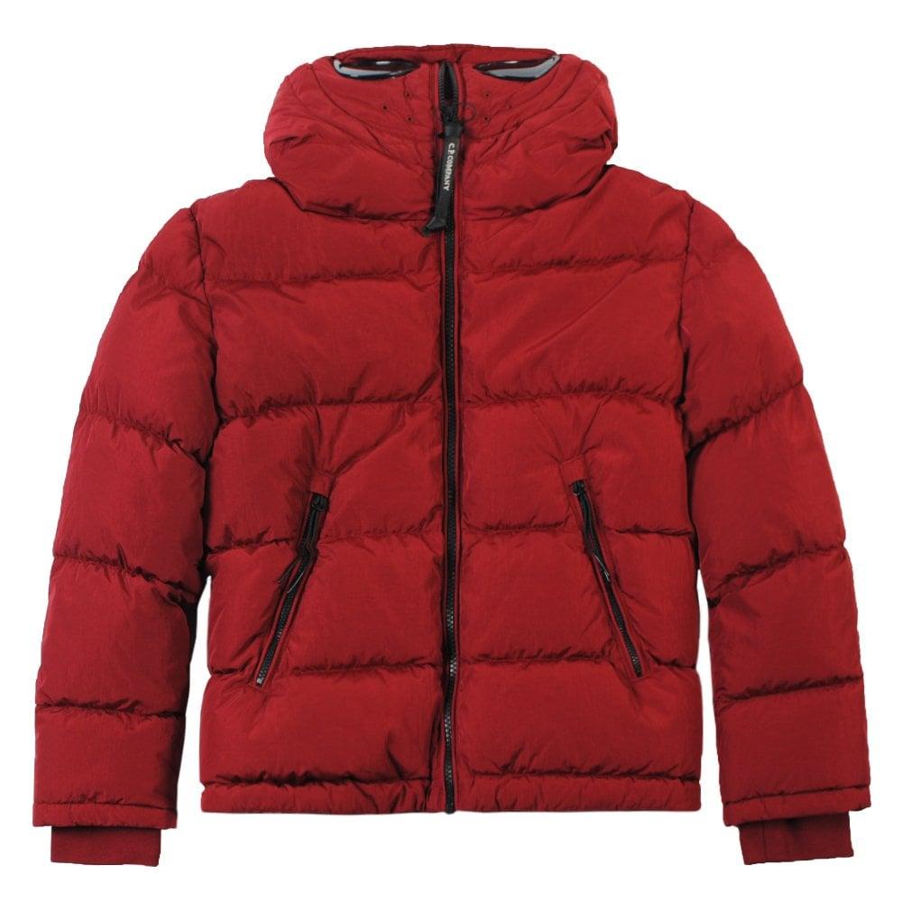 C.p. Company C.P Company Medium Puffa Jacket Colour: RED, Size: 8 YEAR