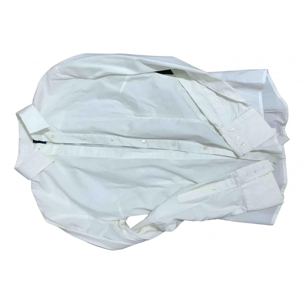 Benetton - Pull   pour femme en coton - blanc