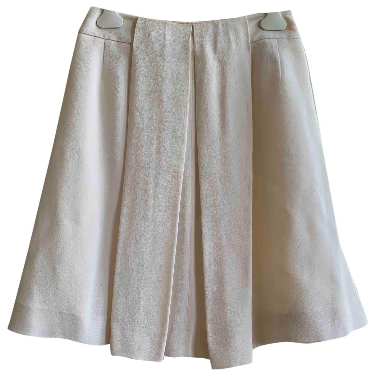 Dior \N White Silk skirt for Women 10 UK