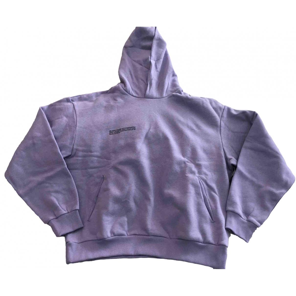 The Pangaia - Pull   pour femme en coton - violet
