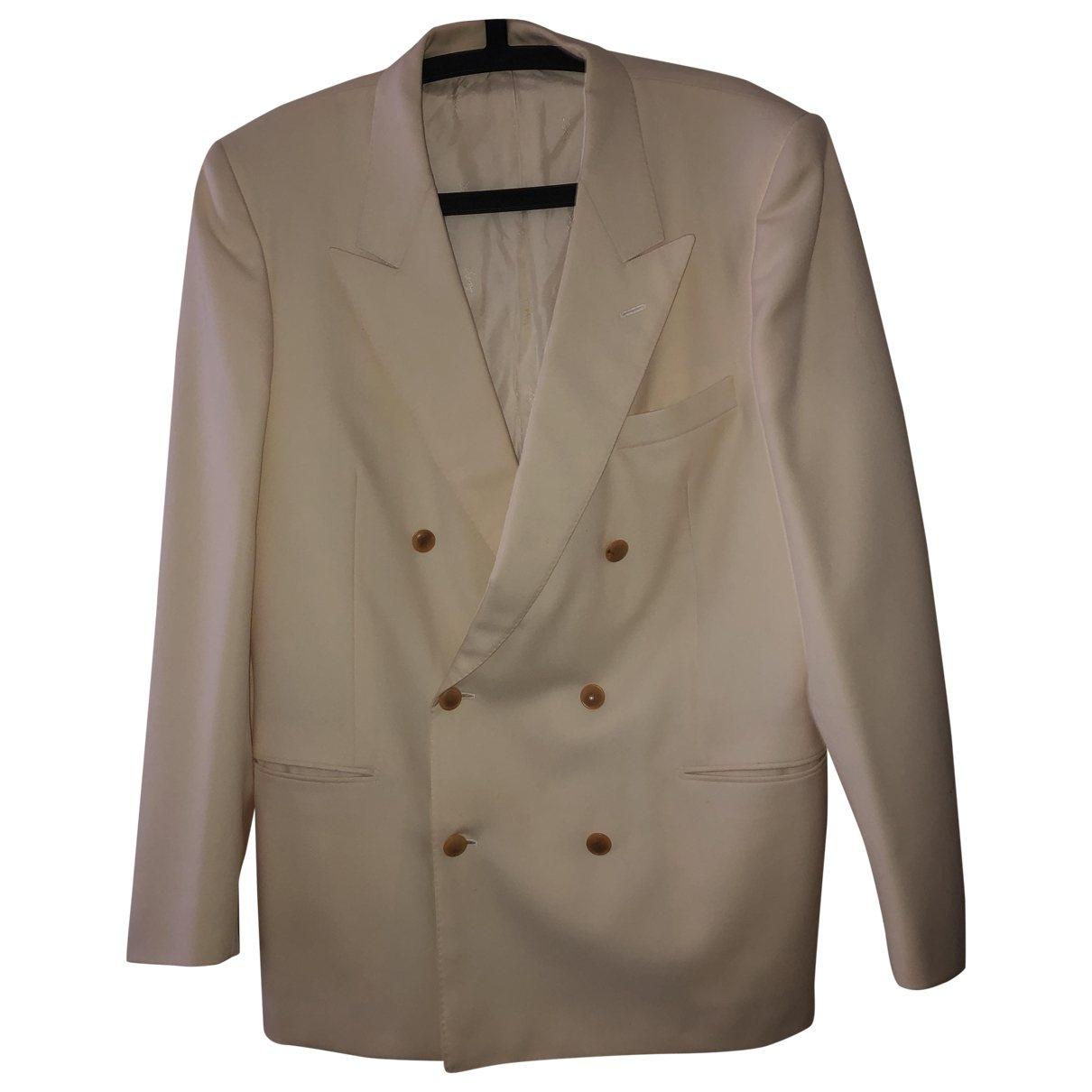 Yves Saint Laurent - Vestes.Blousons   pour homme en coton - ecru
