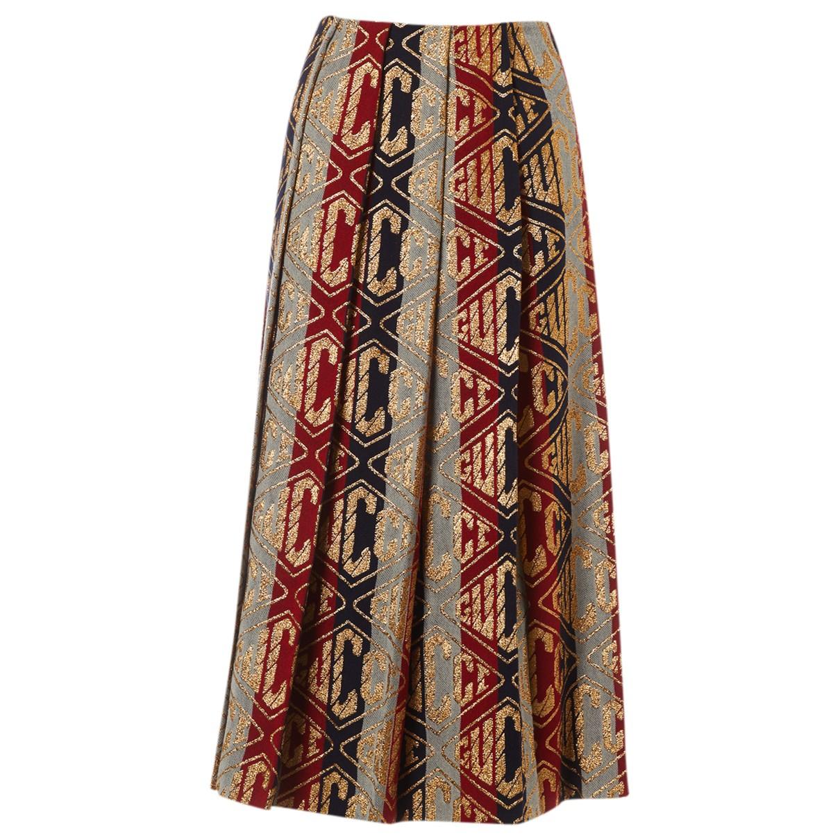 Gucci \N Multicolour Wool skirt for Women 38 IT
