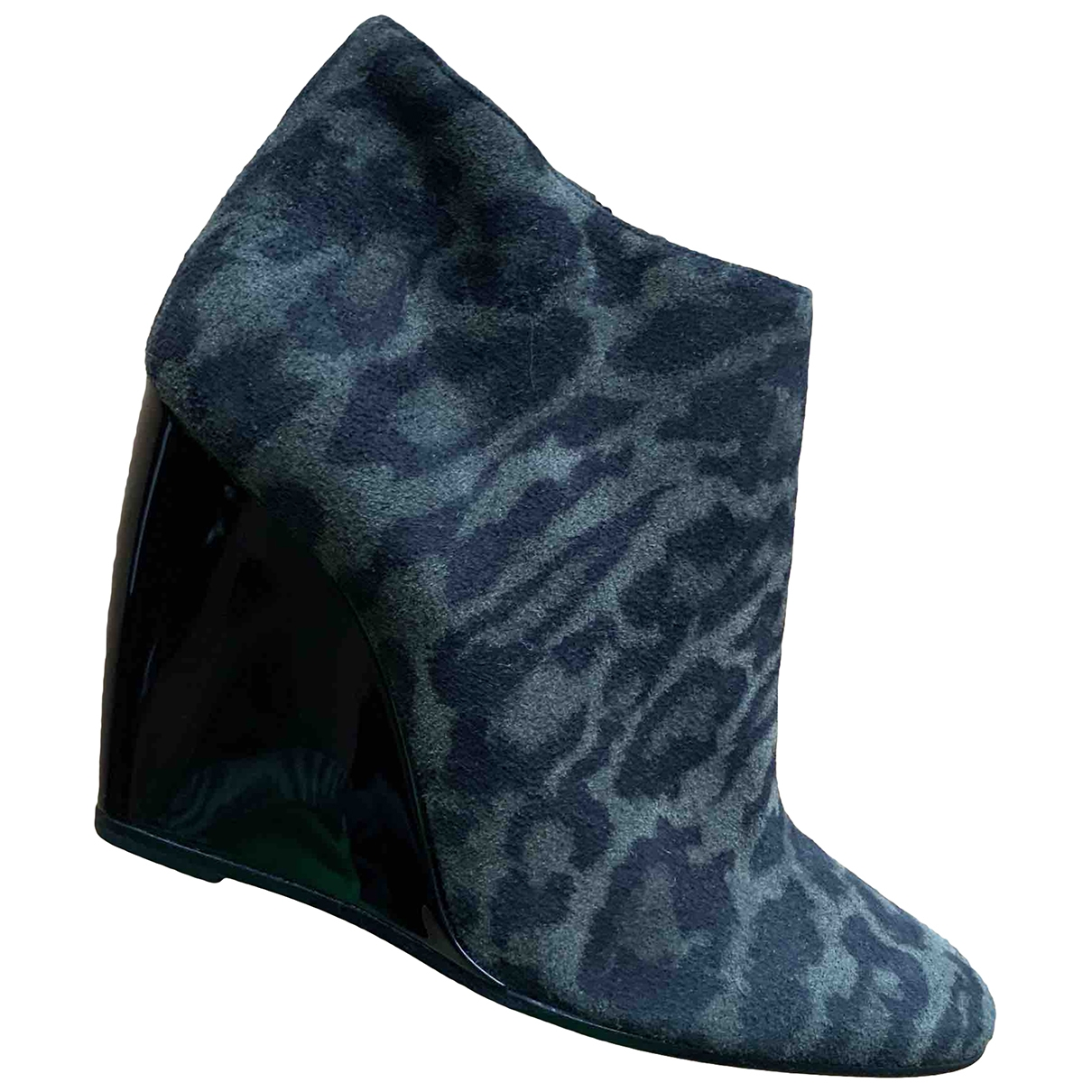 Pierre Hardy \N Multicolour Suede Ankle boots for Women 37 EU