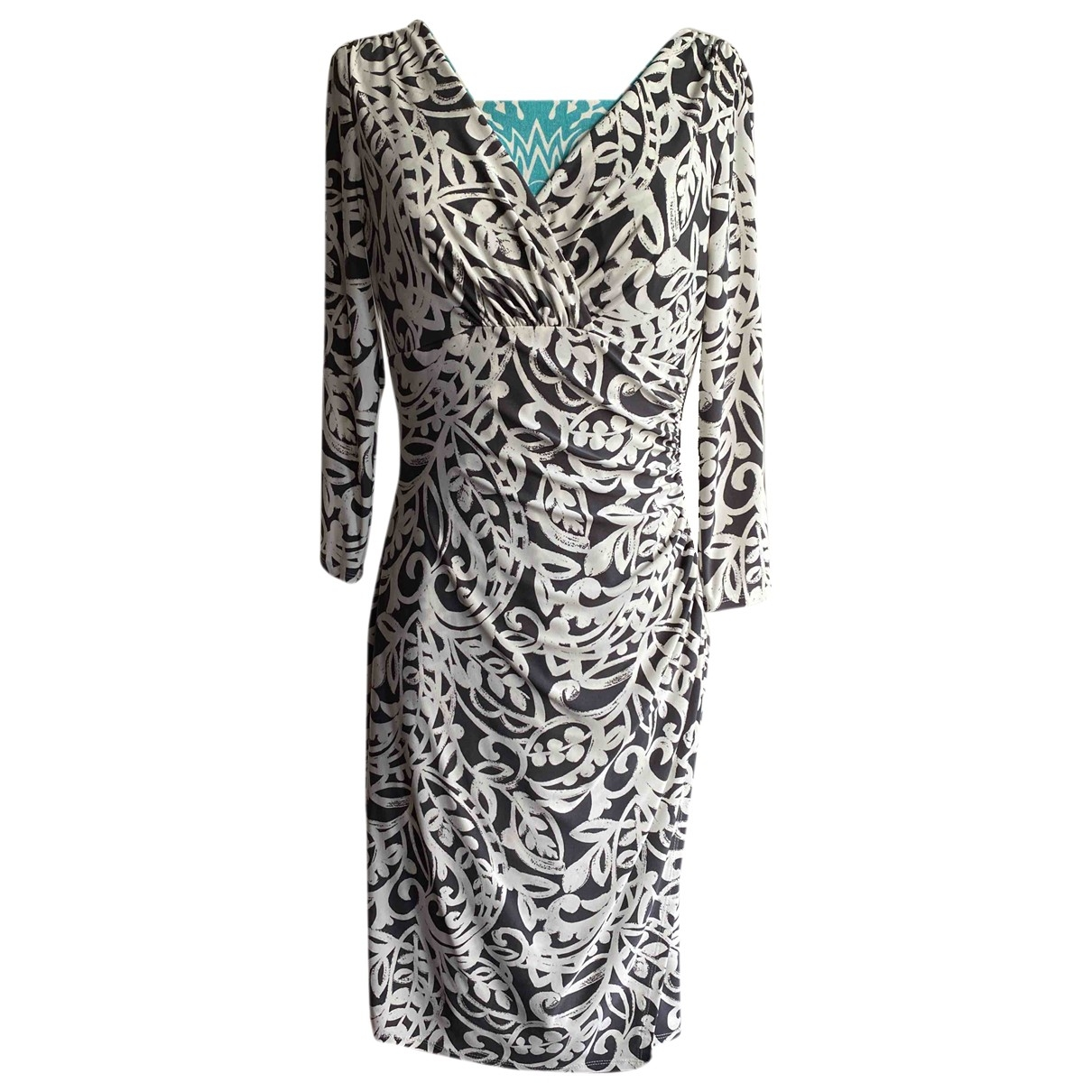 Lauren Ralph Lauren \N Kleid in  Grau Polyester