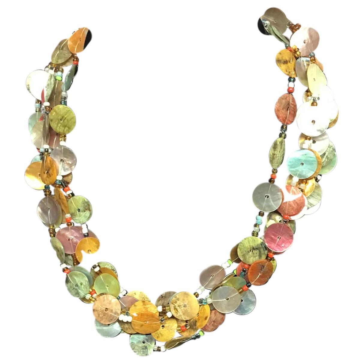 - Collier Nacre pour femme en perles - multicolore