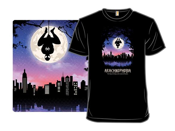 Arachnophobia T Shirt