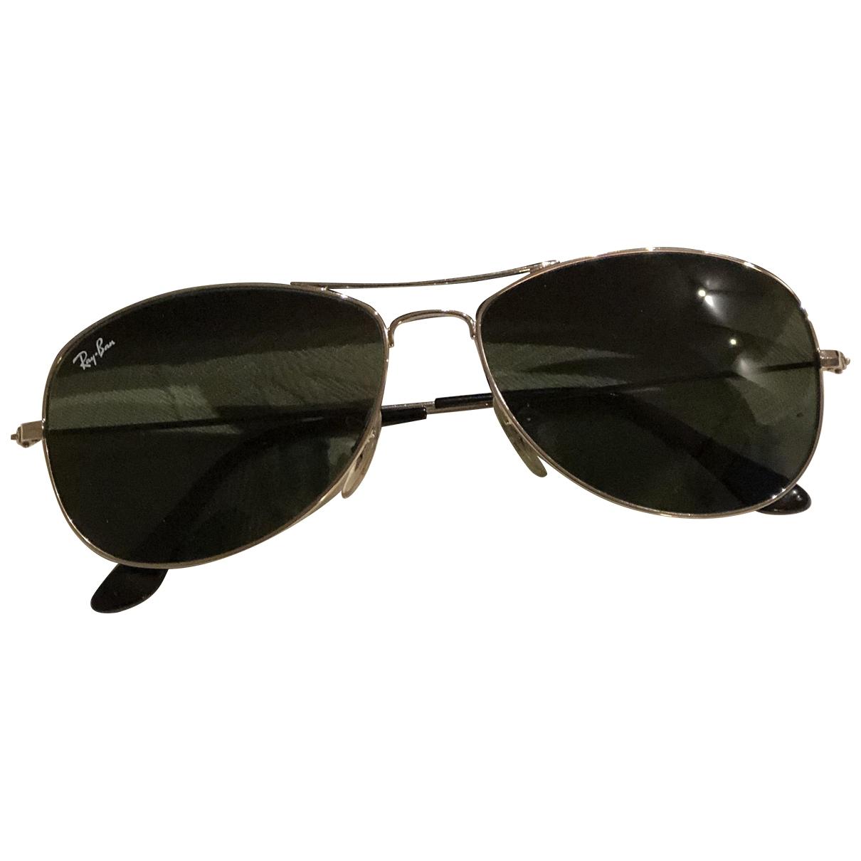 Ray-ban Aviator Anthracite Metal Sunglasses for Men \N