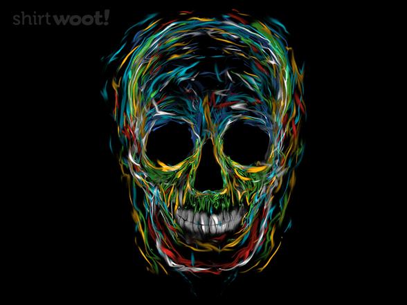 Liquid Skull T Shirt