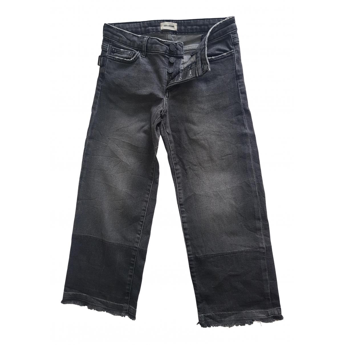 Zadig & Voltaire \N Grey Denim - Jeans Jeans for Women 24 US