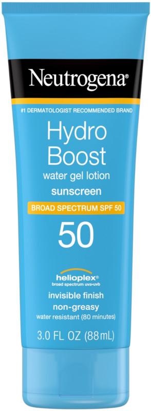 Hydro Boost Sunscreen SPF 50